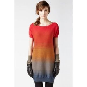 Lacoste Ombre Sweater Tunic Size 34